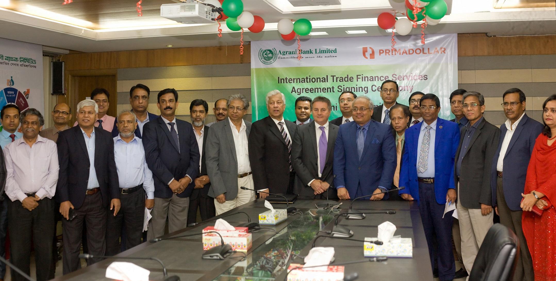 PrimaDollar and Agrani Bank